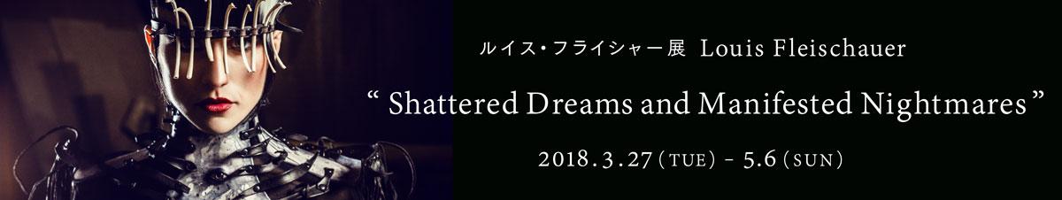 ルイス・フライシャー展「Shattered Dreams and Manifested Nightmares」